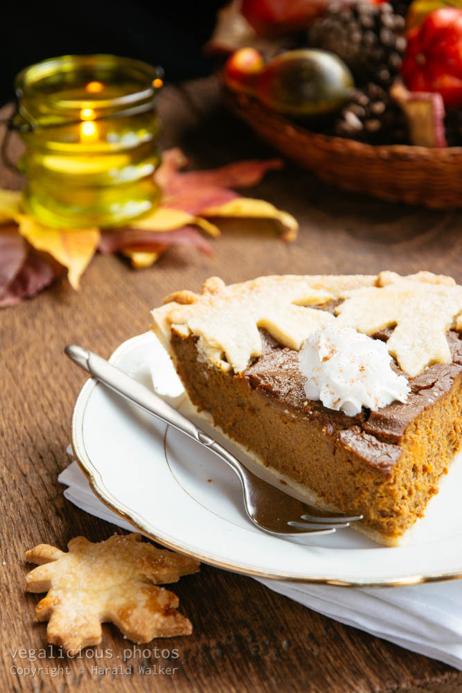 Stock photo of Pumpkin pie