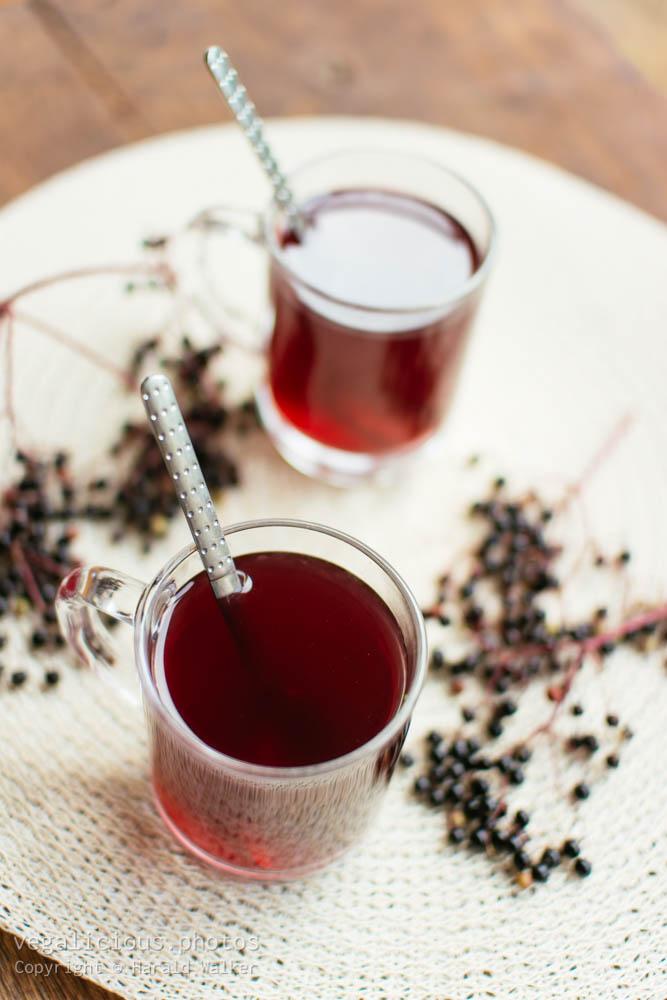 Stock photo of Elderberry tea