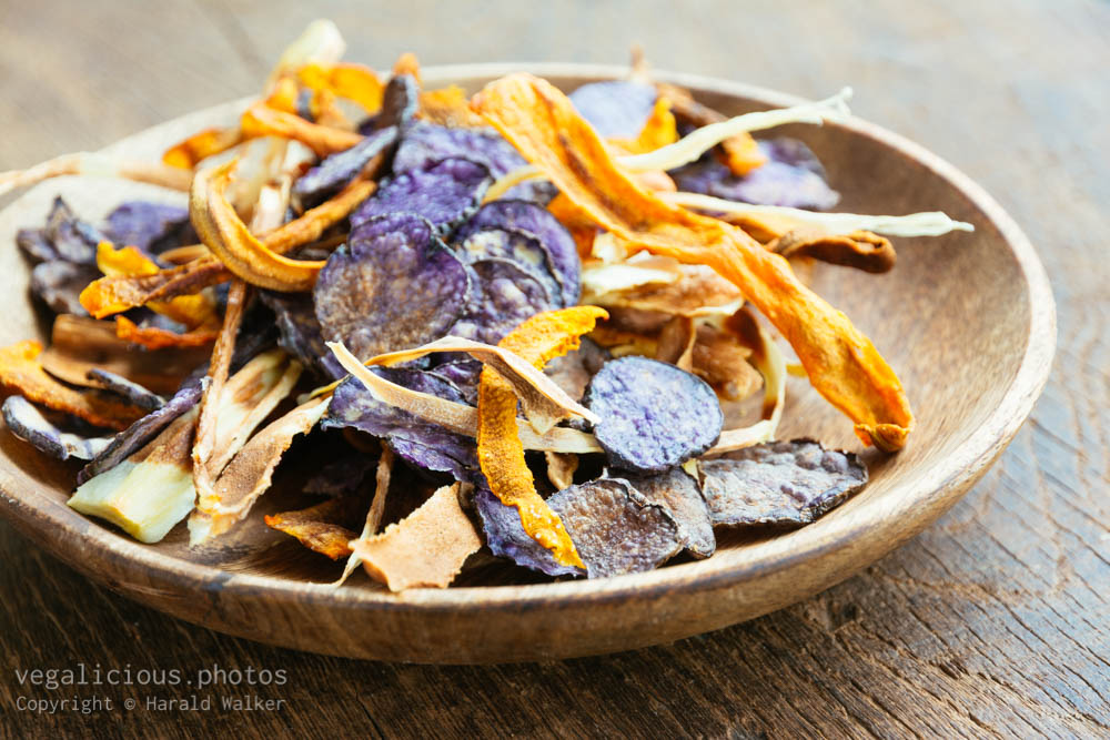 Stock photo of Baked Vegetable Chips