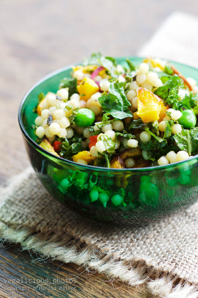 Stock photo of Colorful Couscous Salad