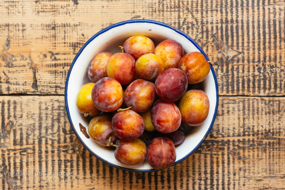 Stock photo of Fresh plums