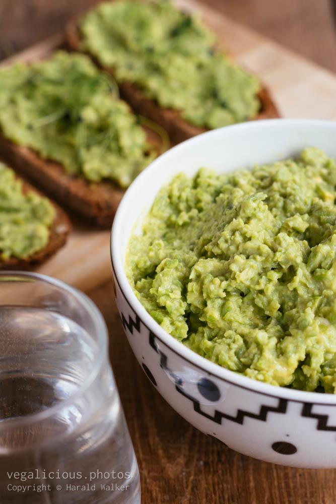 Stock photo of Avocado Pea Spread