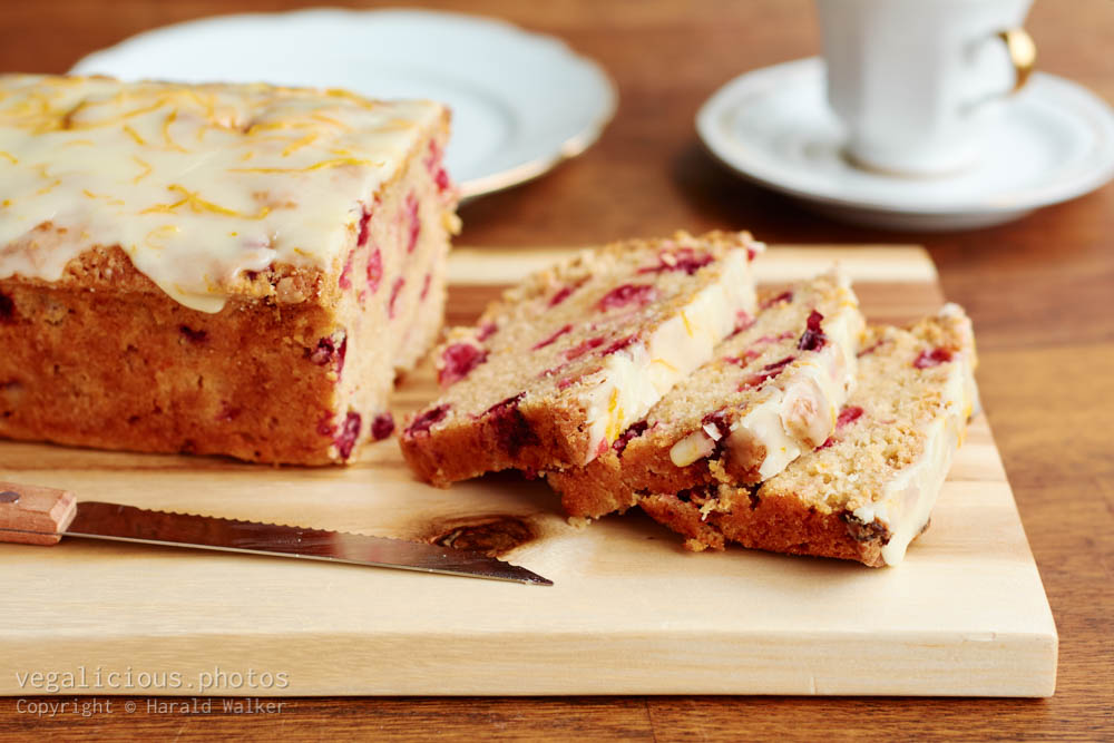 Stock photo of Cranberry bread
