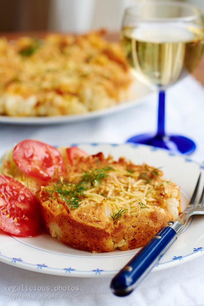 Stock photo of Cauliflower Tortilla
