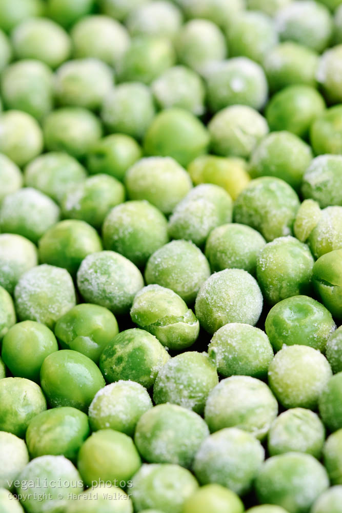 Stock photo of Frozen peas