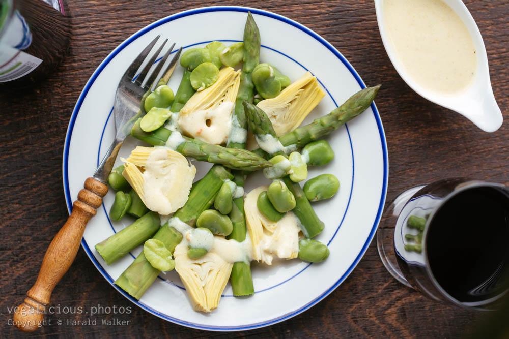 Stock photo of Spring Salad