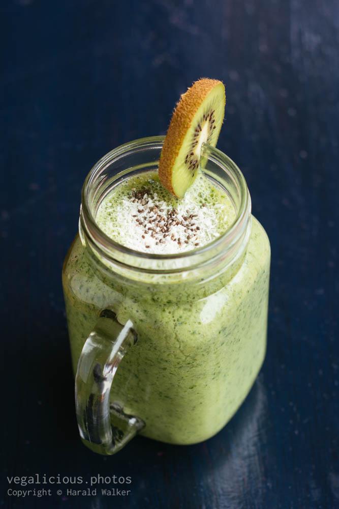 Stock photo of Probiotic Green Smoothie