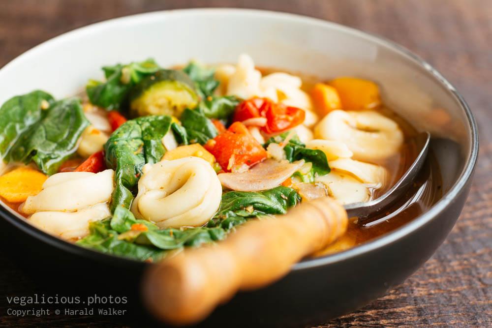 Stock photo of Tuscany Tortellini Soup