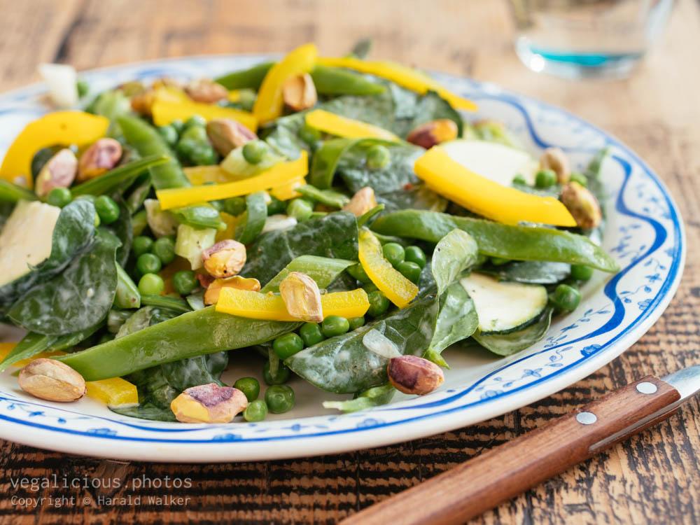 Stock photo of Fresh Springtime Salad