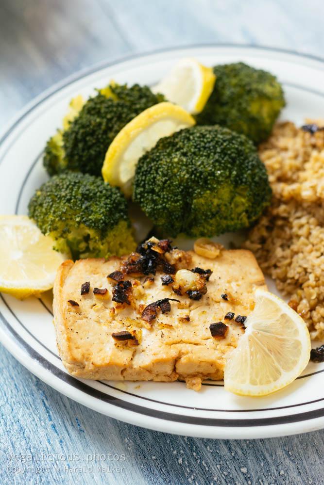 Stock photo of Lemon Marinated Tofu