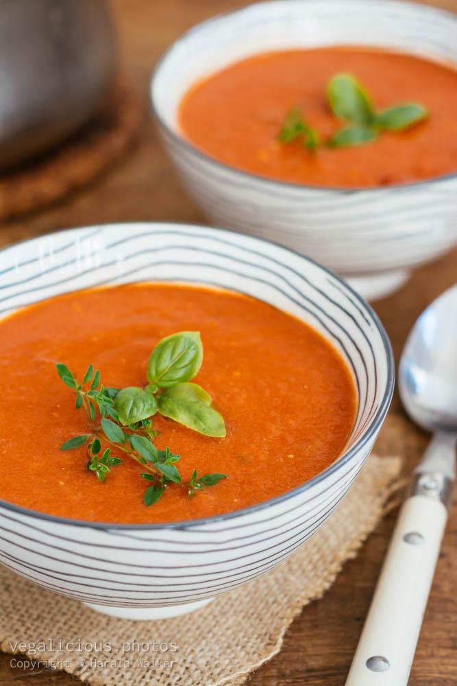 Stock photo of Tomato Orange Soup