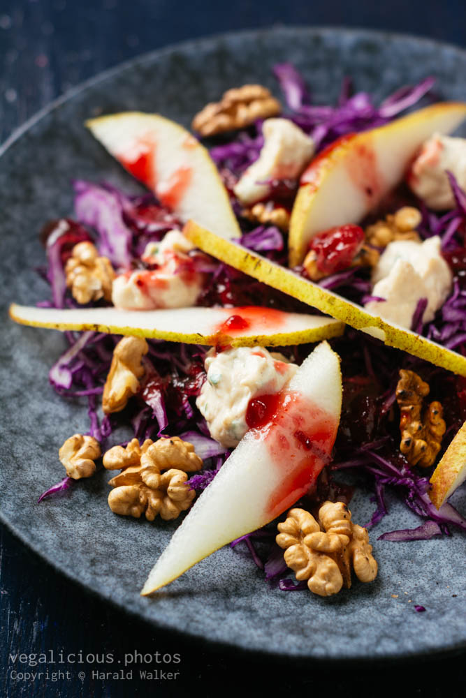 Stock photo of Red Cabbage Salad