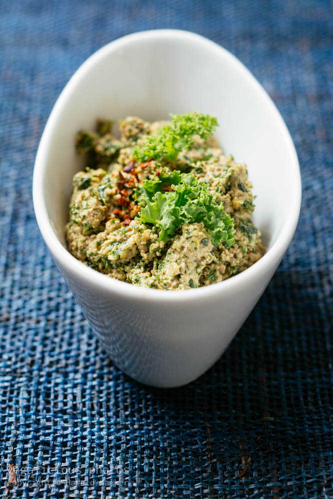 Stock photo of Kale Walnut Pesto