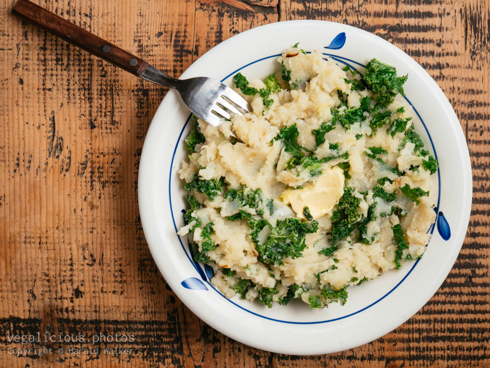 Stock photo of Freshly made colcannon