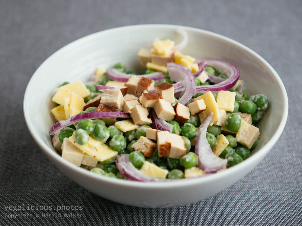 Stock photo of Vegan Pea Salad
