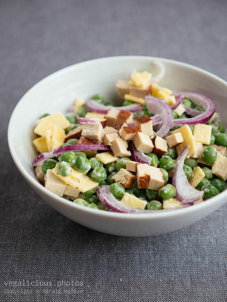 Stock photo of Vegan Pea Salad
