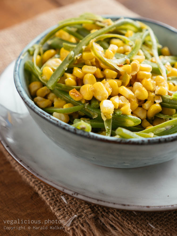 Stock photo of Indiana Succotash