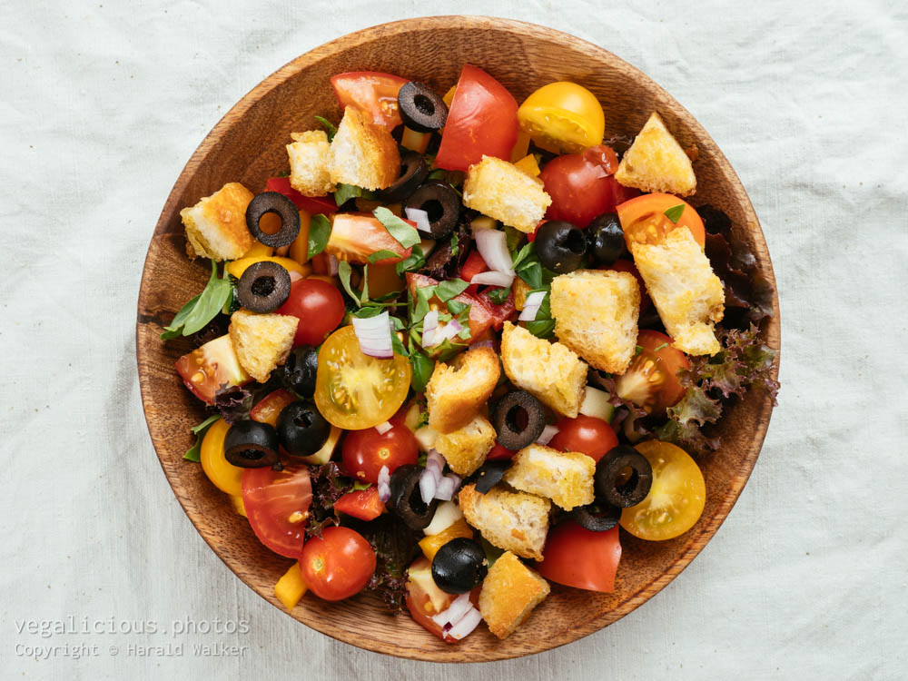 Stock photo of Summer Panzanella