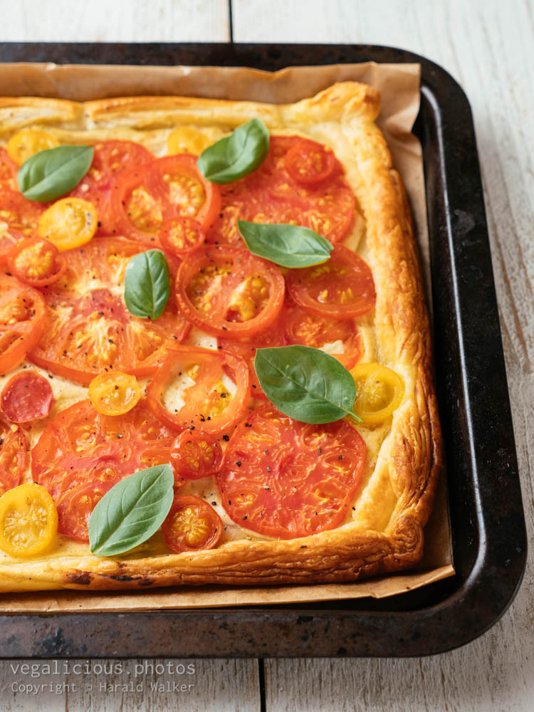 Stock photo of Vegan Tomato Tart