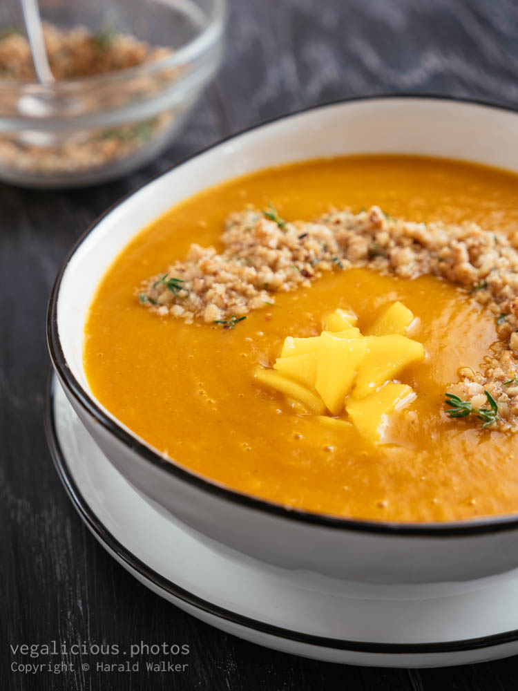 Stock photo of Pumpkin, Mango Soup