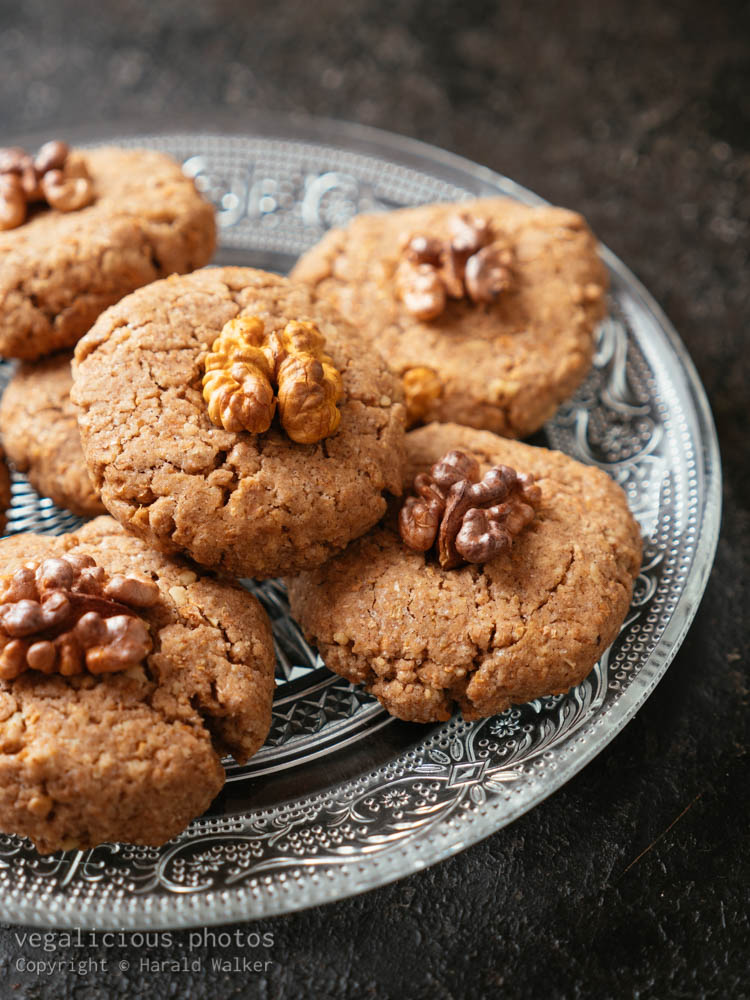Stock photo of Walnut Cookies
