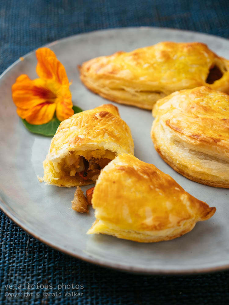Stock photo of Winter Squash and Apple Turnovers