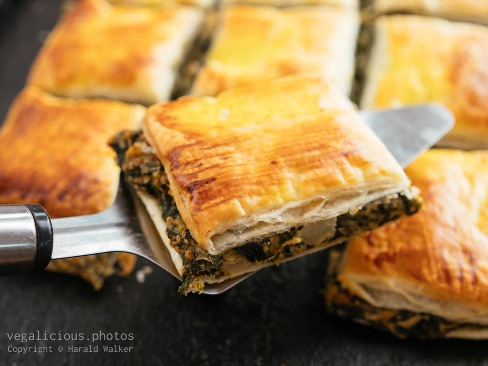 Stock photo of Vegan Spanakopita
