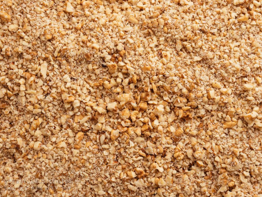 Stock photo of Ground walnuts