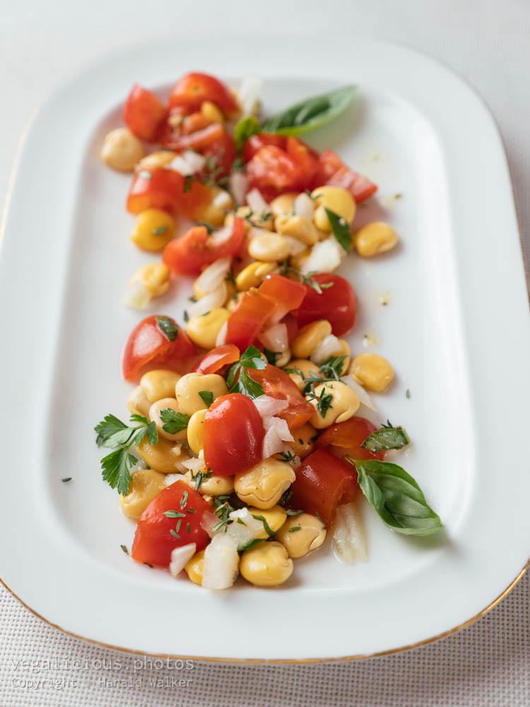 Stock photo of Lupen Tomato Salad