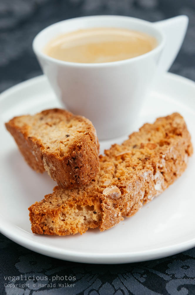 Stock photo of Vegan Almond Biscotti