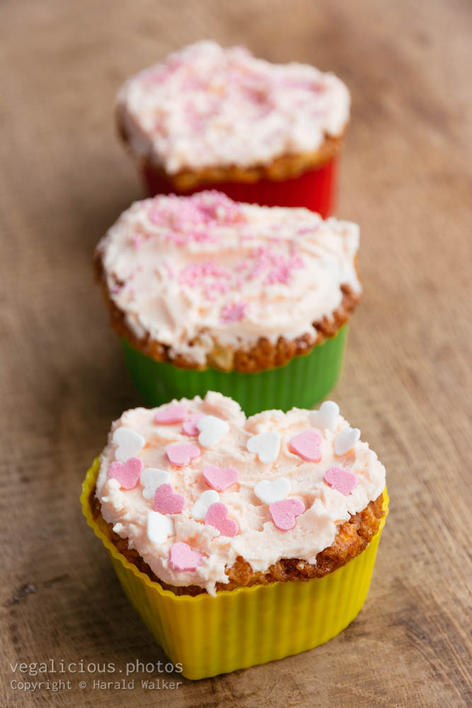 Stock photo of Colorful cupcakes