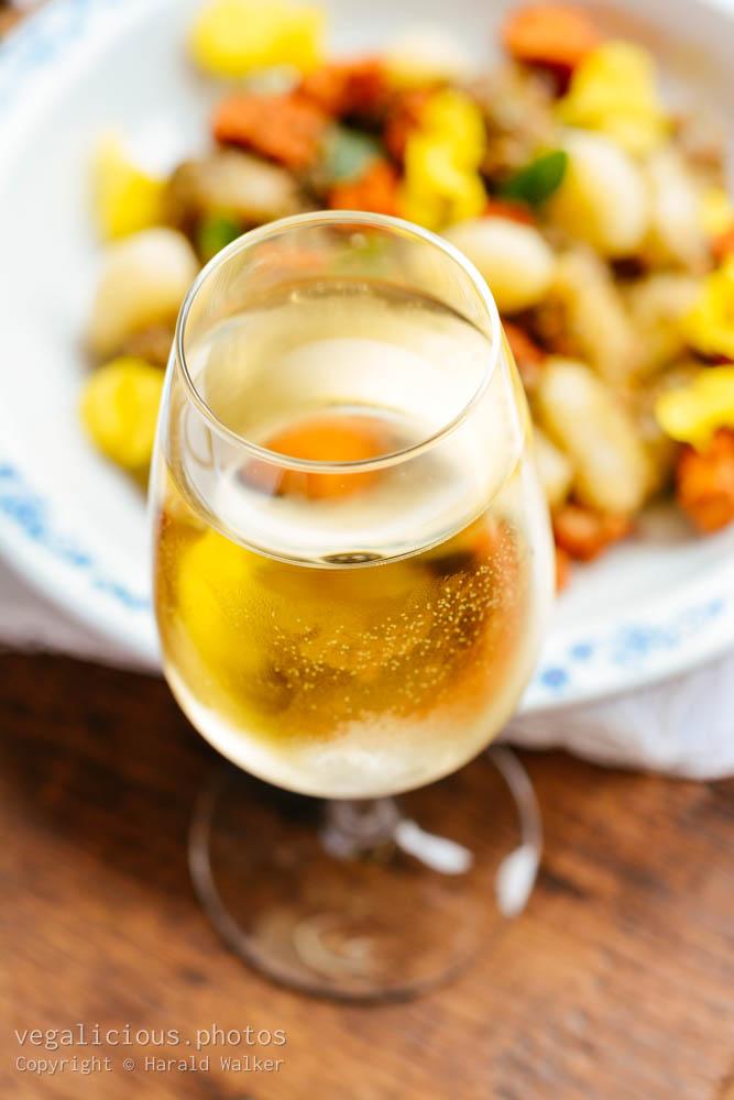 Stock photo of White wine