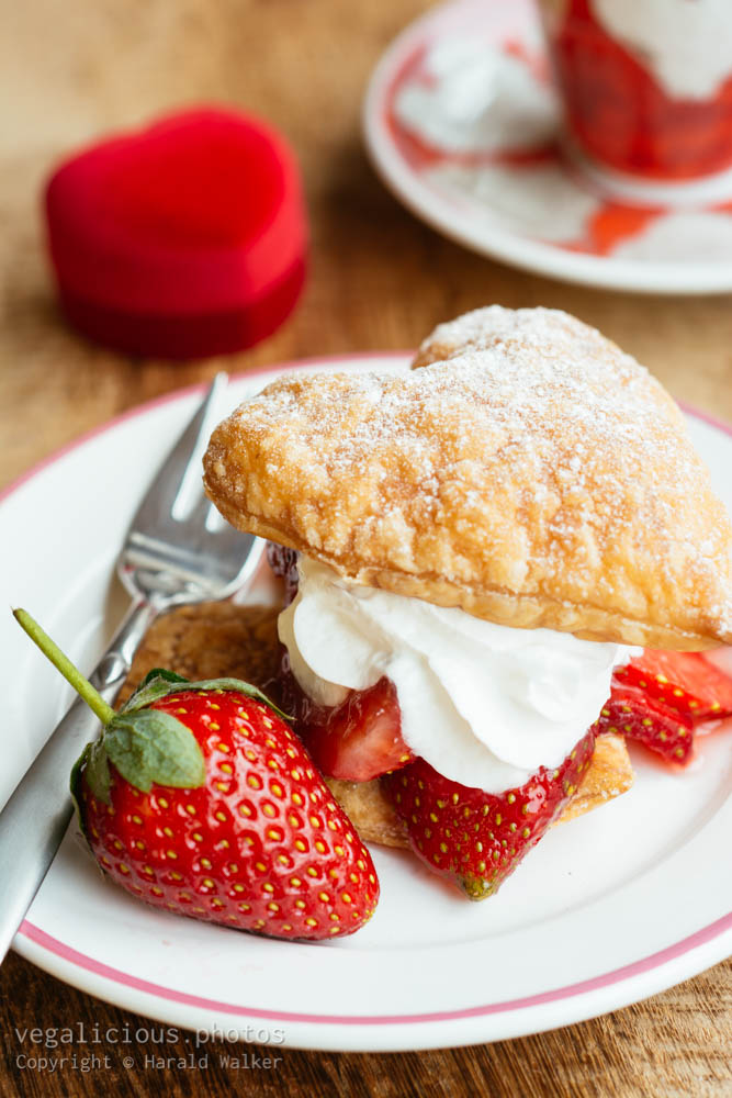Stock photo of Strawberry Puff Pastry Treats