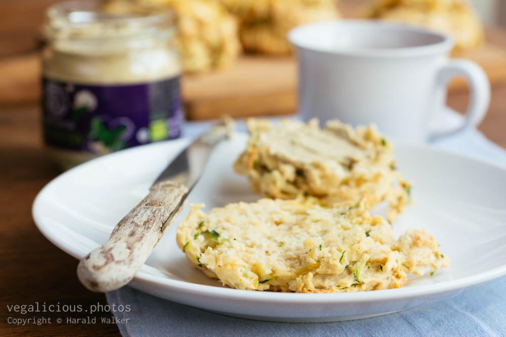 Stock photo of Vegan Cheesy Zucchini Biscuits