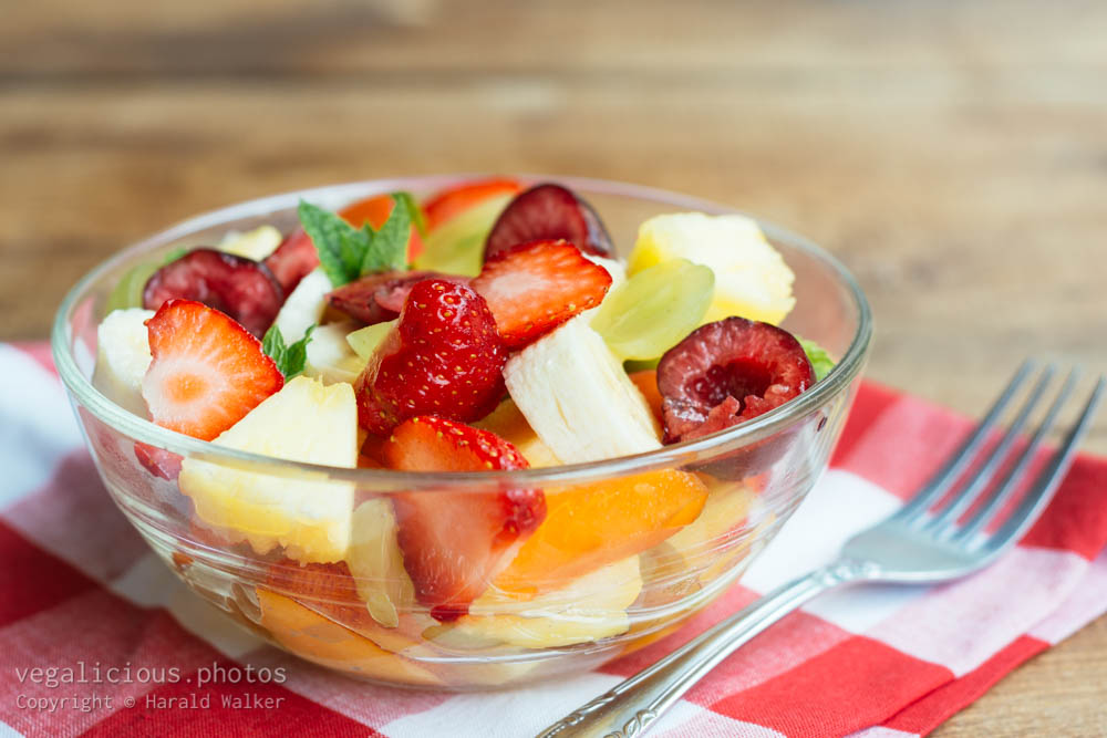 Stock photo of Summer Fruit Salad