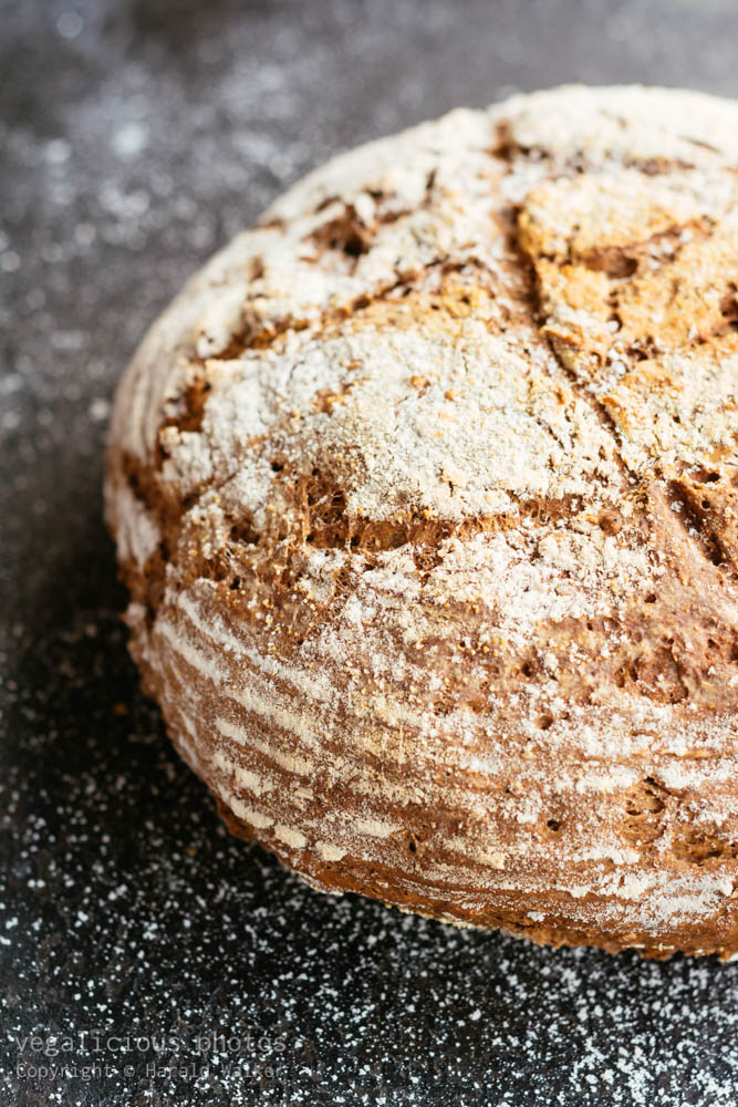 Stock photo of Wholegrain Sourdough bread