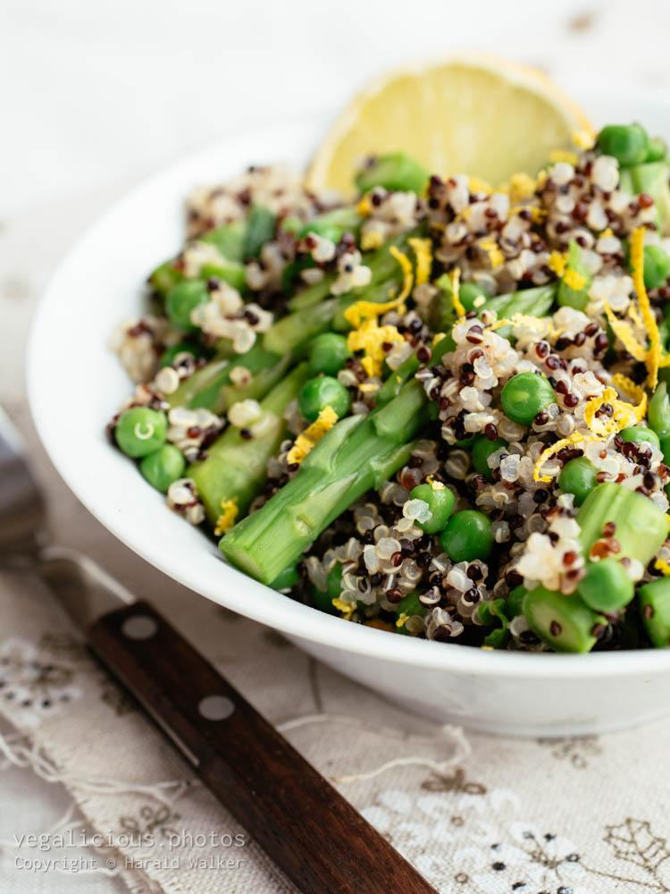 Stock photo of Springtime Quinoa Salad