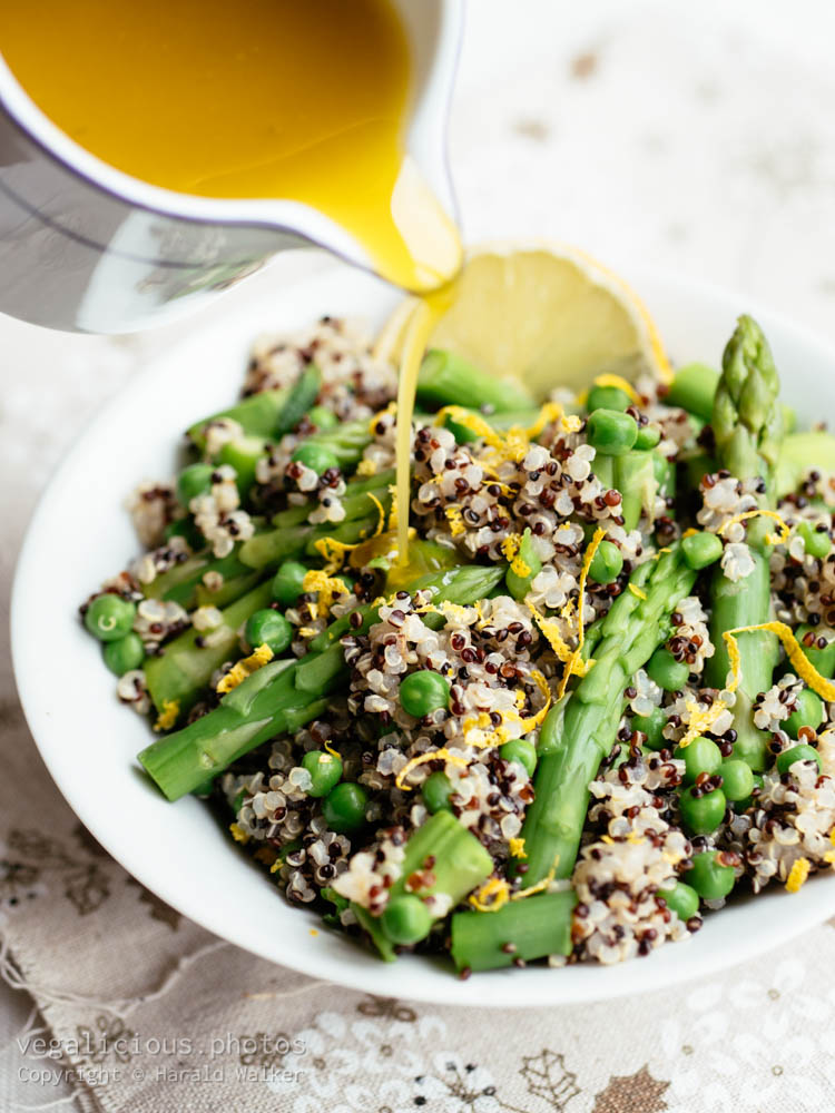 Stock photo of Springtime Quinoa Salad