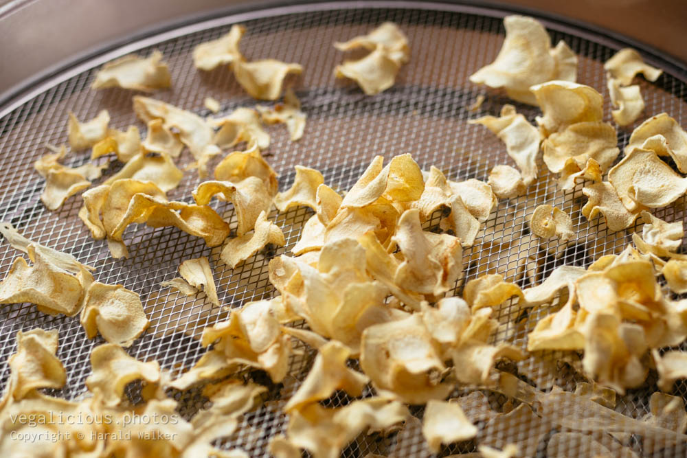Stock photo of Parsnip chips