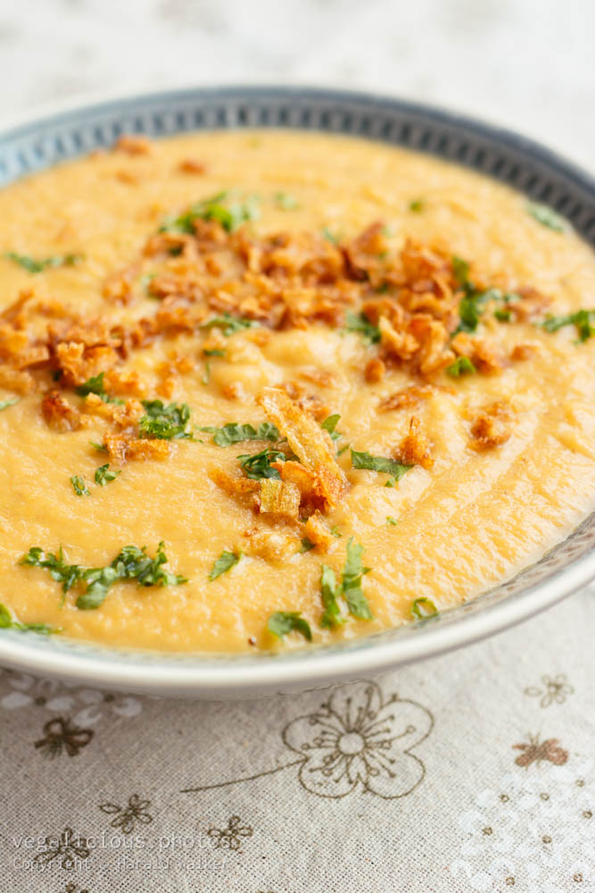 Stock photo of Carrot Parsnip Soup