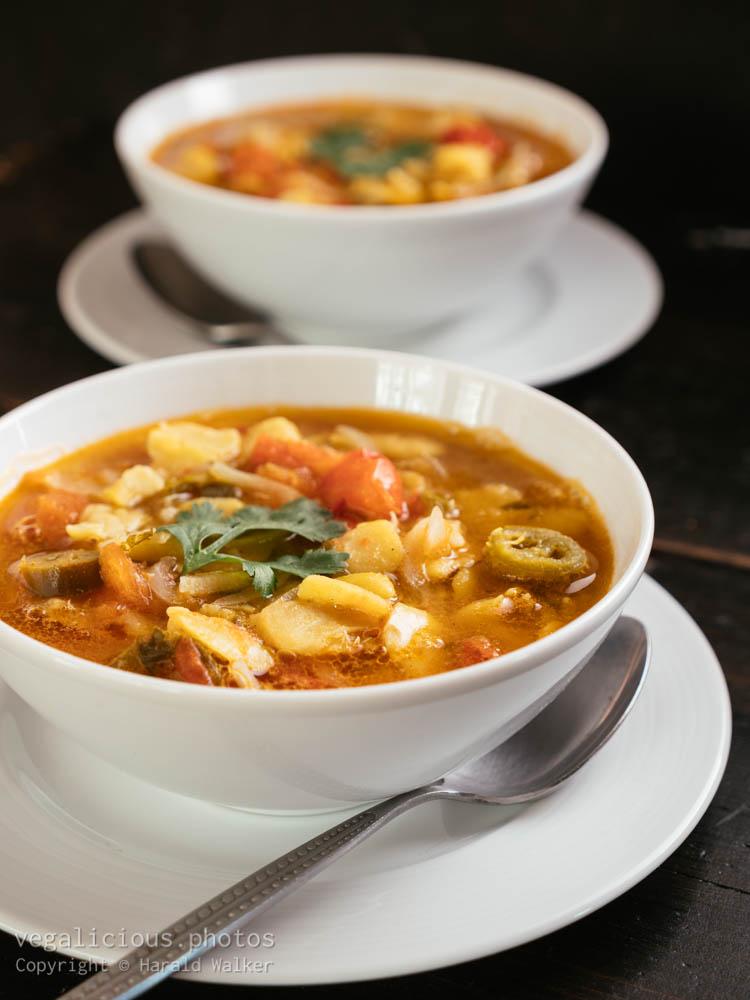 Stock photo of Mexican Fava Bean Soup