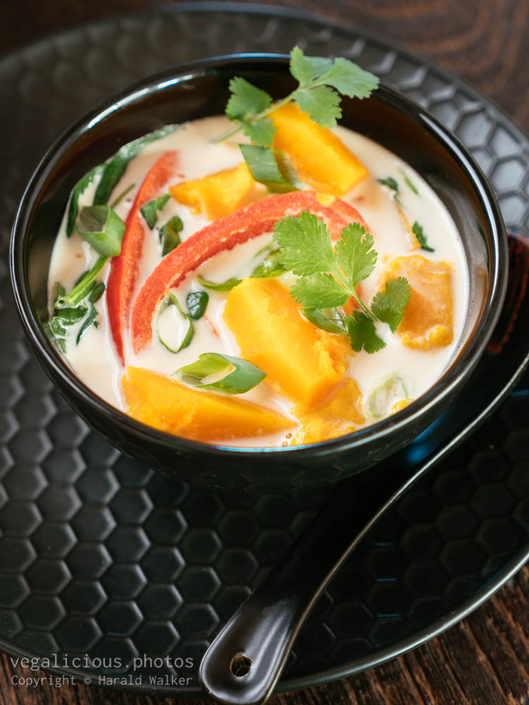 Stock photo of Thai Winter Squash Soup