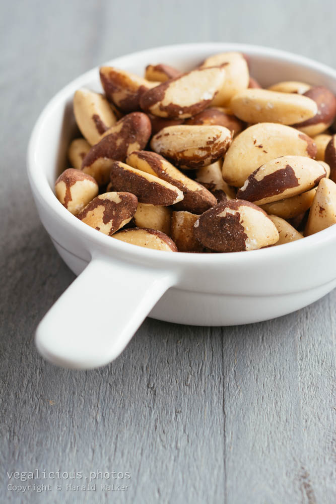 Stock photo of Brazil nuts