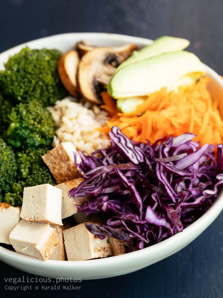 Stock photo of Vegetable Rice Bowl