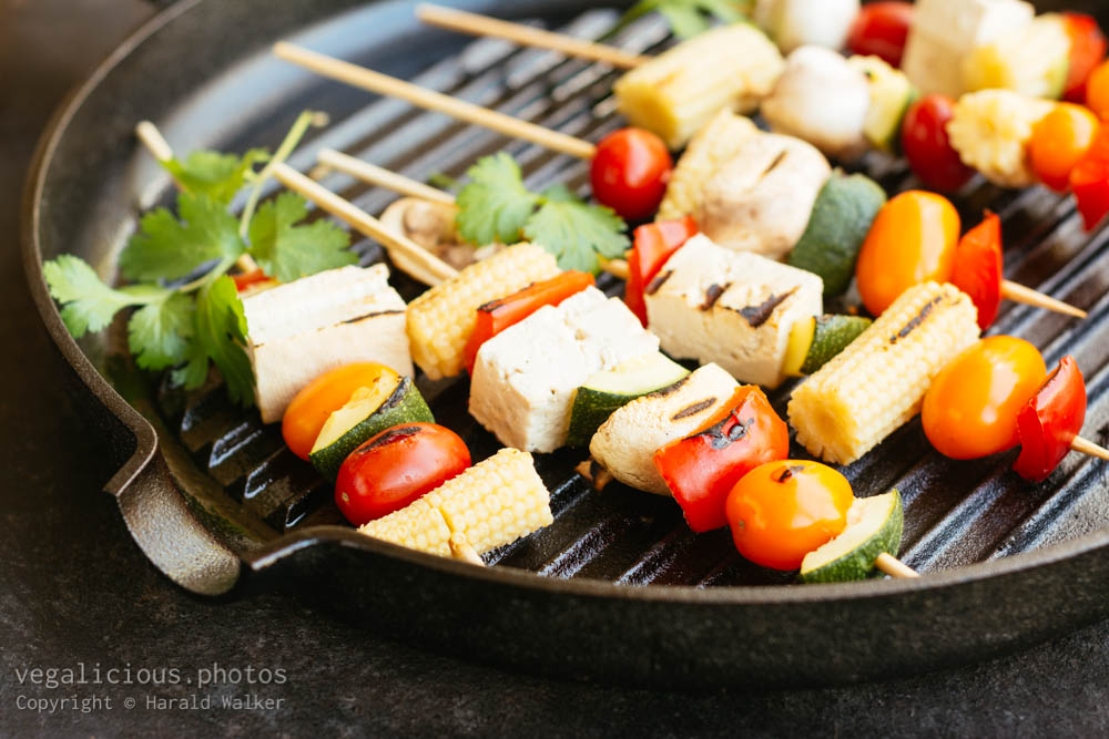Stock photo of Grilled vegetables