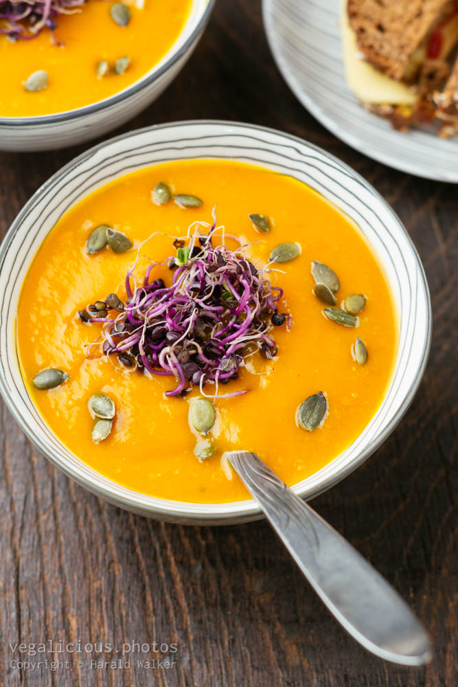 Stock photo of Spicy Squash Soup