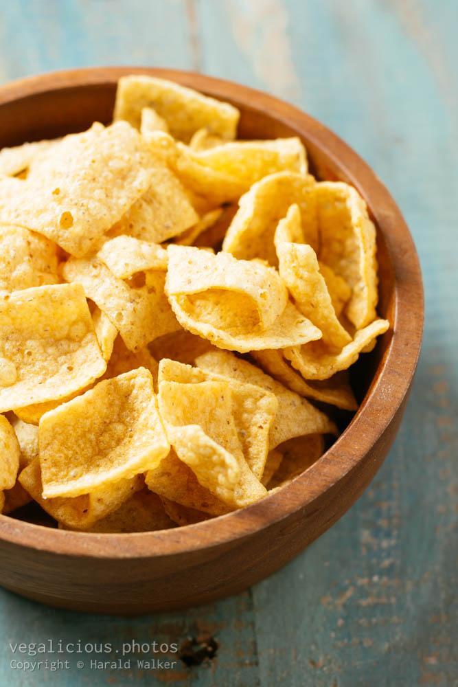 Stock photo of Quinoa chips