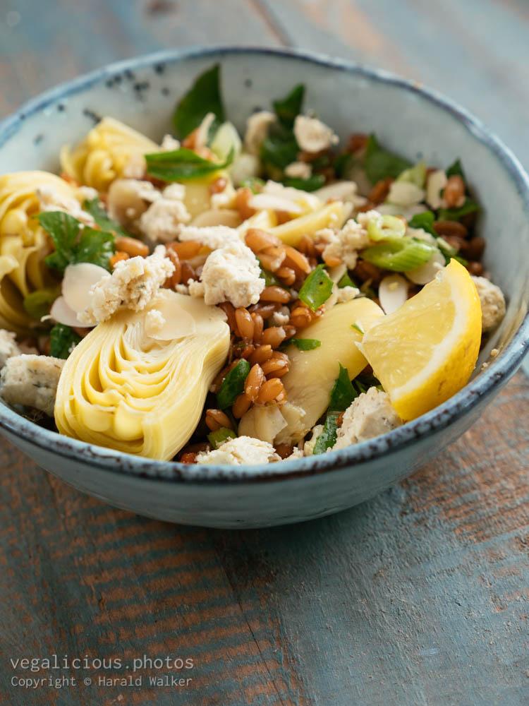 Stock photo of Spelt Salad