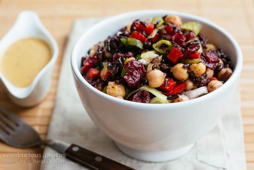 Stock photo of Forbidden Rice Salad