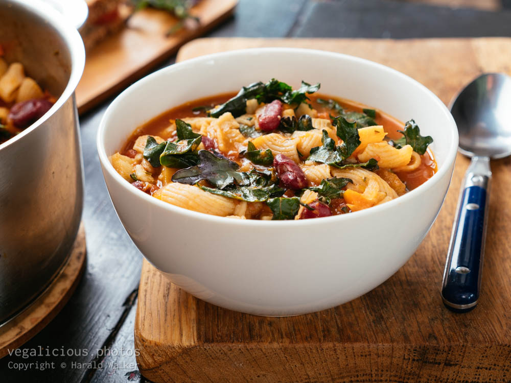 Stock photo of Winter Minestrone Soup